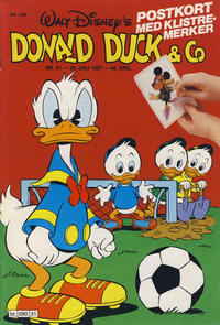 Cover Thumbnail for Donald Duck & Co (Hjemmet, 1948 series) #31/1987