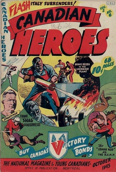 Cover for Canadian Heroes (Educational Projects, 1942 series) #v2#6