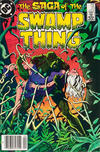 Cover Thumbnail for The Saga of Swamp Thing (1982 series) #23 [newsstand]