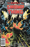 Cover for The Saga of Swamp Thing (DC, 1982 series) #20 [Newsstand]