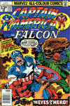 Cover Thumbnail for Captain America (1968 series) #212 [British Price Variant]