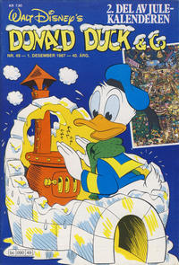 Cover Thumbnail for Donald Duck & Co (Hjemmet / Egmont, 1948 series) #49/1987