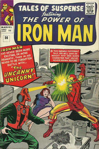 Cover for Tales of Suspense (Marvel, 1959 series) #56 [Regular Edition]
