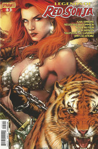 Cover Thumbnail for Legends of Red Sonja (Dynamite Entertainment, 2013 series) #5