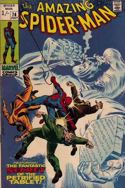 Cover for The Amazing Spider-Man (Marvel, 1963 series) #74