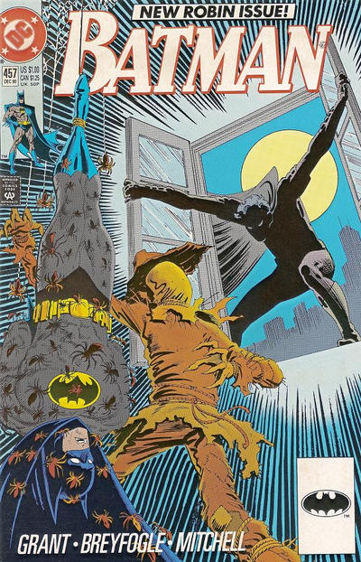 Cover for Batman (DC, 1940 series) #457 [Direct]