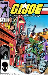 Cover for G.I. Joe, A Real American Hero (Marvel, 1982 series) #17 [Direct]