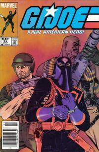 Cover Thumbnail for G.I. Joe, A Real American Hero (Marvel, 1982 series) #23 [Newsstand Edition]