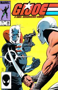 Cover Thumbnail for G.I. Joe, A Real American Hero (Marvel, 1982 series) #38