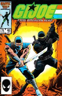 Cover Thumbnail for G.I. Joe, A Real American Hero (Marvel, 1982 series) #46 [Direct Edition]
