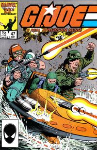 Cover Thumbnail for G.I. Joe, A Real American Hero (Marvel, 1982 series) #47 [Direct Edition]