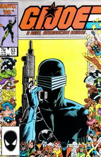Cover Thumbnail for G.I. Joe, A Real American Hero (Marvel, 1982 series) #53 [Direct Edition]