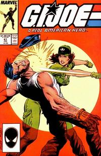 Cover Thumbnail for G.I. Joe, A Real American Hero (Marvel, 1982 series) #67 [Direct]