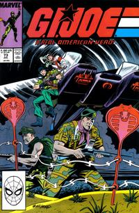 Cover Thumbnail for G.I. Joe, A Real American Hero (Marvel, 1982 series) #73 [Direct Edition]