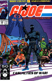 Cover Thumbnail for G.I. Joe, A Real American Hero (Marvel, 1982 series) #109 [Direct Edition]