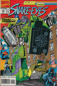 Cover Thumbnail for G.I. Joe, A Real American Hero (Marvel, 1982 series) #142 [Direct Edition]