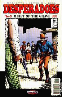 Cover Thumbnail for Desperadoes: Quiet of the Grave (DC, 2001 series) #1