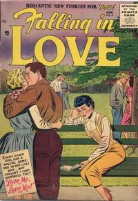 Cover Thumbnail for Falling in Love (DC, 1955 series) #6
