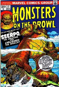 Cover Thumbnail for Monsters on the Prowl (Marvel, 1971 series) #27