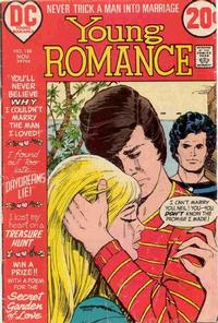 Cover for Young Romance (DC, 1963 series) #188