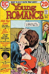 Cover for Young Romance (DC, 1963 series) #189