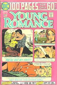 Cover for Young Romance (DC, 1963 series) #201