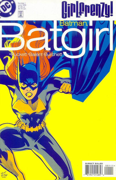 Cover for Batman: Batgirl (DC, 1998 series) #1