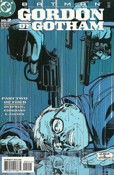 Cover for Batman: Gordon of Gotham (1998 series) #2