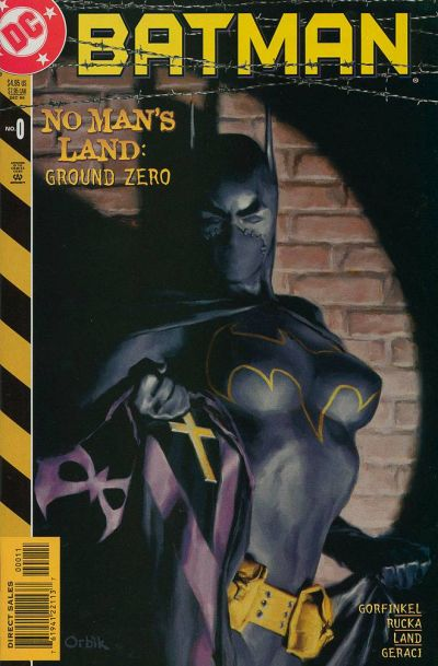 Cover for Batman: No Man's Land (DC, 1999 series) #0