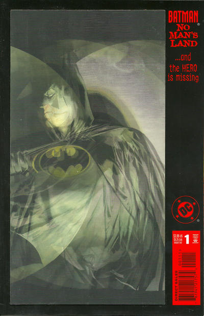 Cover for Batman: No Man's Land (DC, 1999 series) #1 [Standard Cover]
