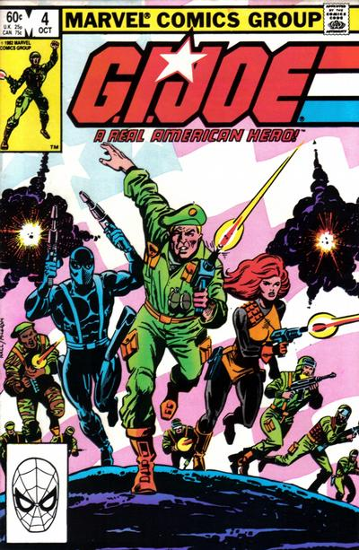 Cover for G.I. Joe, A Real American Hero (Marvel, 1982 series) #4 [Newsstand Edition]