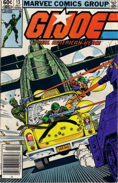 Cover for G.I. Joe, A Real American Hero (Marvel, 1982 series) #13