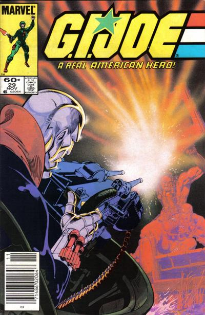 Cover for G.I. Joe, A Real American Hero (1982 series) #29 [Newsstand Edition]