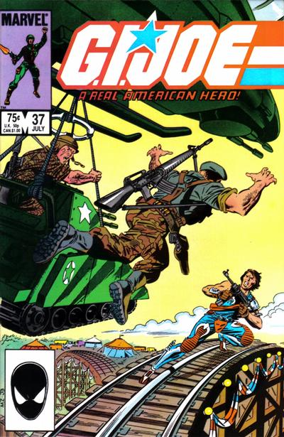 Cover for G.I. Joe, A Real American Hero (1982 series) #37