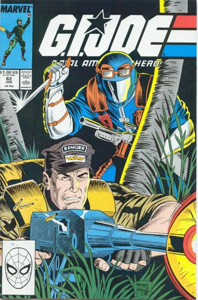 Cover for G.I. Joe, A Real American Hero (Marvel, 1982 series) #82