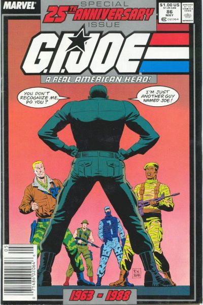 Cover for G.I. Joe, A Real American Hero (Marvel, 1982 series) #86