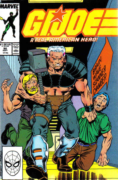 Cover for G.I. Joe, A Real American Hero (Marvel, 1982 series) #90