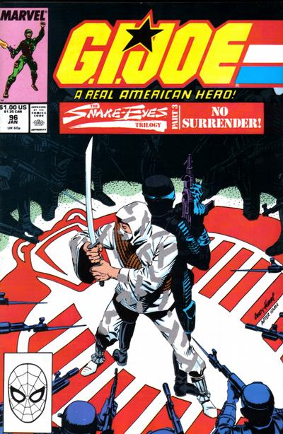 Cover for G.I. Joe, A Real American Hero (Marvel, 1982 series) #96