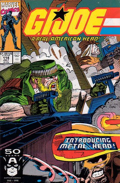 Cover for G.I. Joe, A Real American Hero (Marvel, 1982 series) #114 [Direct Edition]