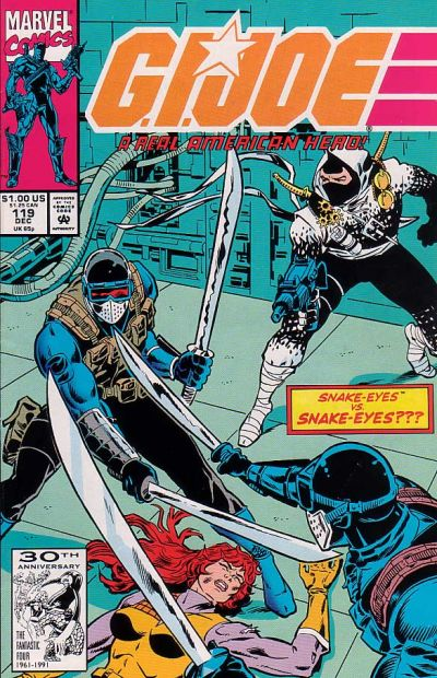 Cover for G.I. Joe, A Real American Hero (Marvel, 1982 series) #119