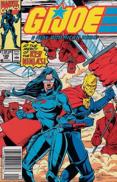Cover for G.I. Joe, A Real American Hero (Marvel, 1982 series) #120 [Direct Edition]