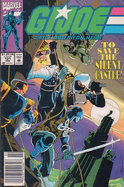 Cover for G.I. Joe, A Real American Hero (Marvel, 1982 series) #121