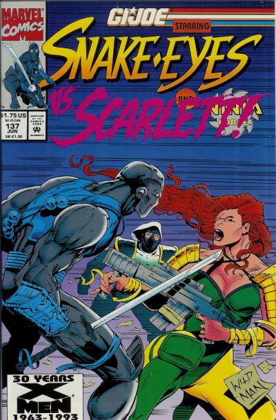 Cover for G.I. Joe, A Real American Hero (Marvel, 1982 series) #137