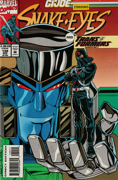Cover for G.I. Joe, A Real American Hero (Marvel, 1982 series) #139 [Direct Edition]