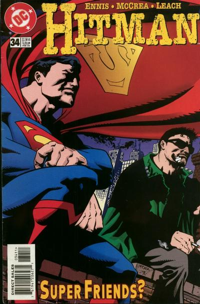 Cover for Hitman (DC, 1996 series) #34