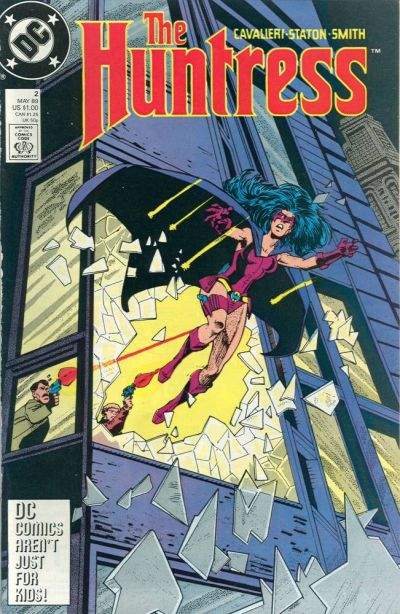Cover for The Huntress (DC, 1989 series) #2