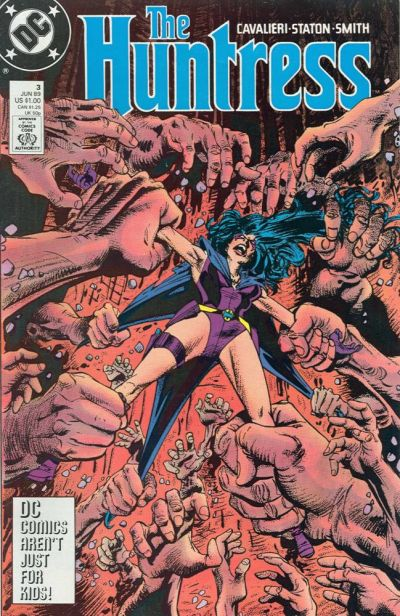 Cover for The Huntress (DC, 1989 series) #3