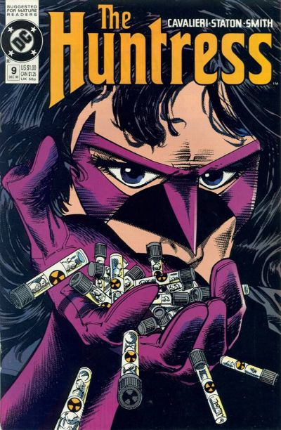 Cover for The Huntress (DC, 1989 series) #9