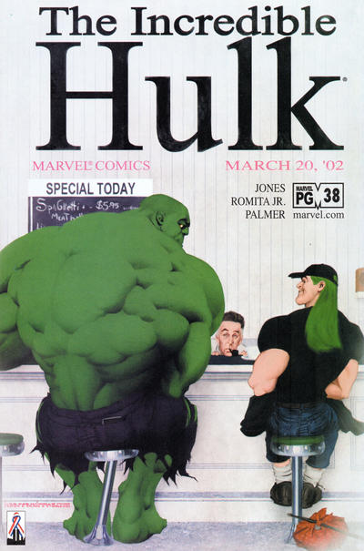 Cover for Incredible Hulk (Marvel, 2000 series) #38