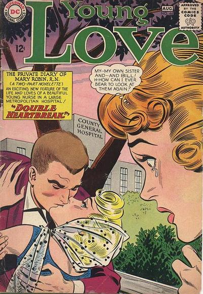 Cover for Young Love (DC, 1963 series) #44